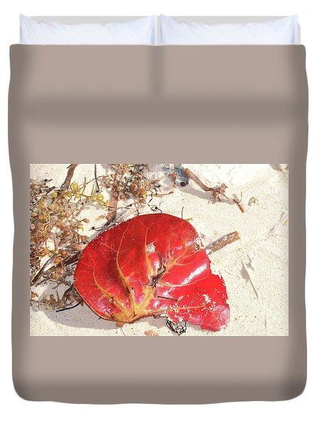 Beach Treasures 1 Duvet Cover