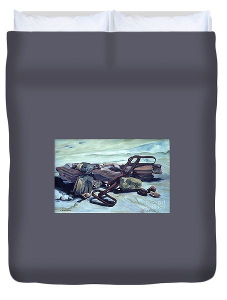 Beach Treasures Duvet Cover