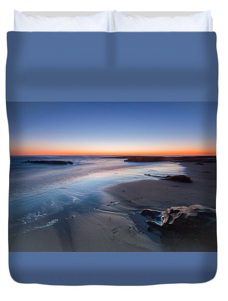 Beach View 2 Duvet Cover by Catherine Lau