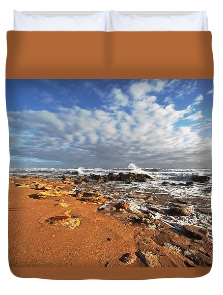 Beach View Duvet Cover