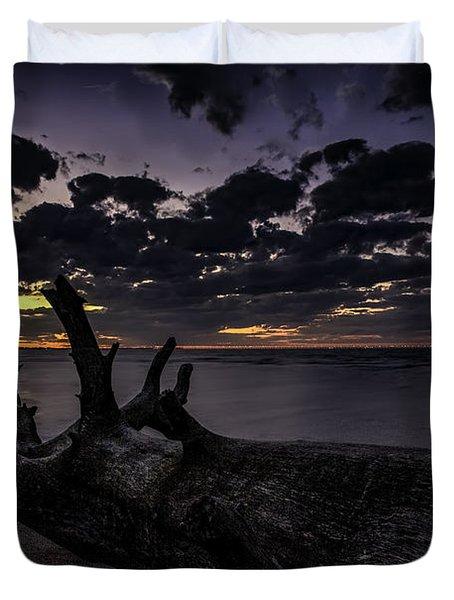 Beach Wood Duvet Cover