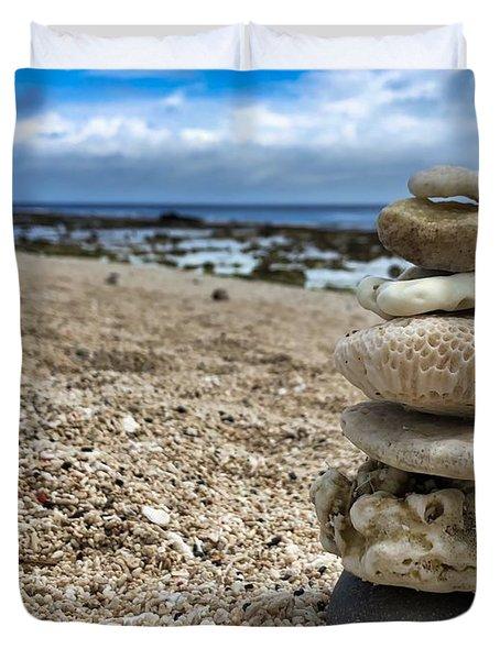 Beach Zen Duvet Cover