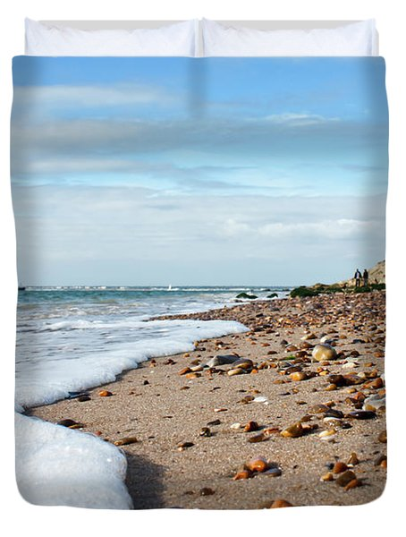 Beachcombing Duvet Cover