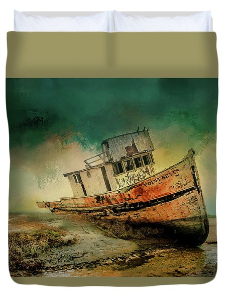 Beached Duvet Cover