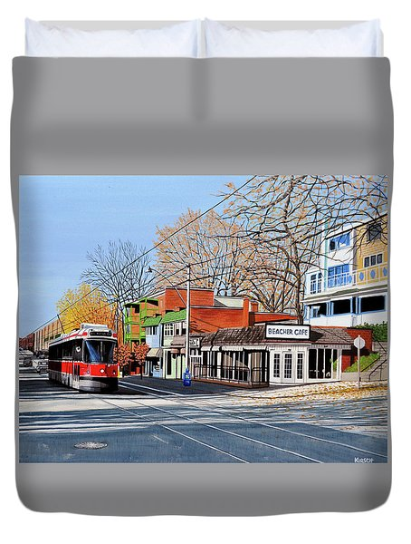 Beacher Cafe Duvet Cover