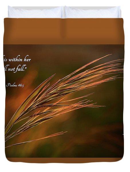 Beachgrass Fairlawn Duvet Cover