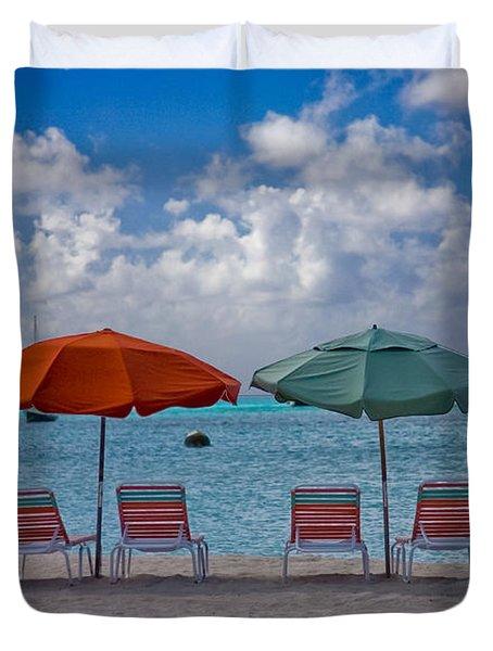 Beachie Keen Duvet Cover