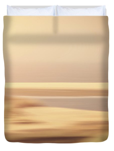 Beachscape Duvet Cover by Wim Lanclus