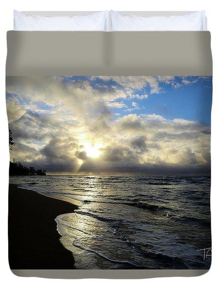 Beachy Morning Duvet Cover