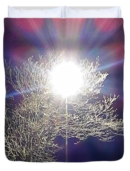 Beacon In The Night Duvet Cover