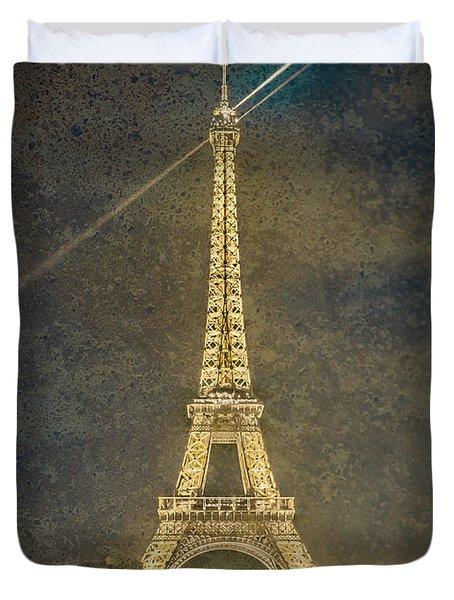 Paris, France - Beacon Duvet Cover