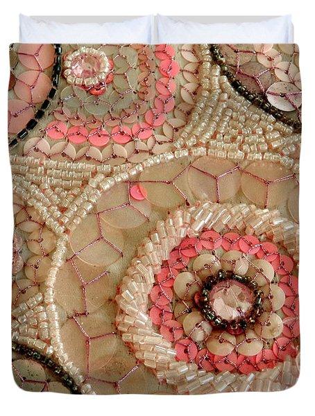 Beaded Design Duvet Cover