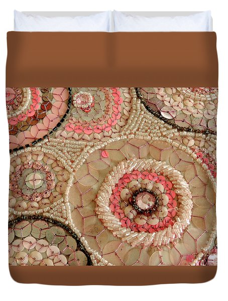 Beaded Design Duvet Cover