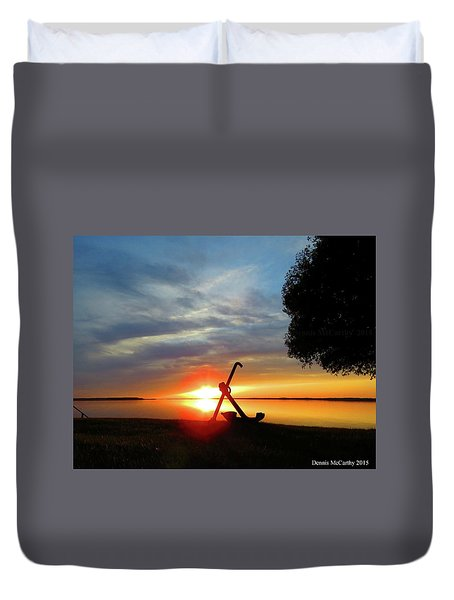 Beadles Point Sunset Duvet Cover