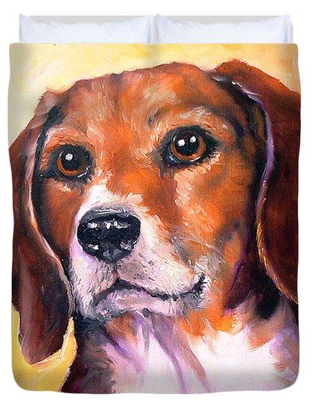 Beagle Billy Duvet Cover