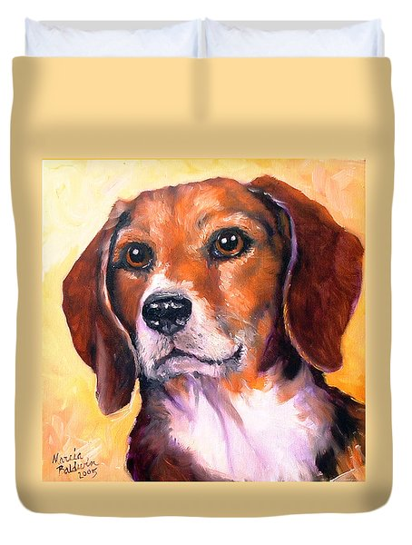 Beagle Billy Duvet Cover