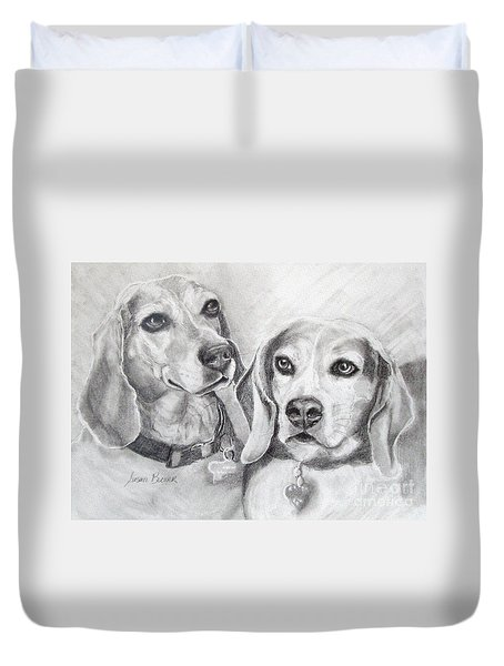 Beagle Boys Duvet Cover