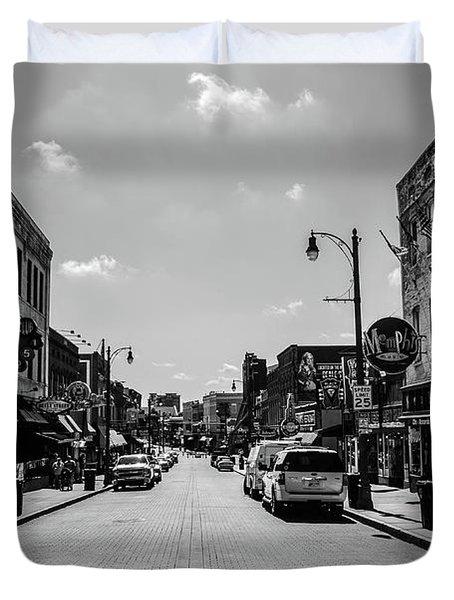 Beale Street Basics Duvet Cover