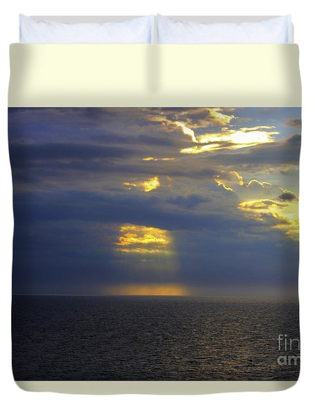 Beam Me Up Duvet Cover