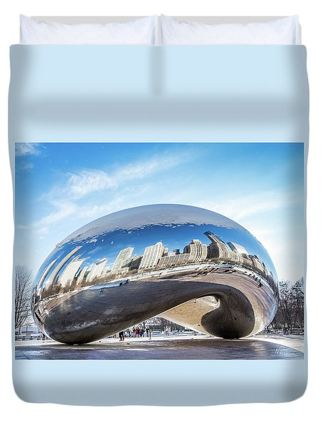 Bean Reflections Duvet Cover