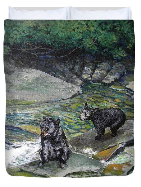 Bear Creek Duvet Cover