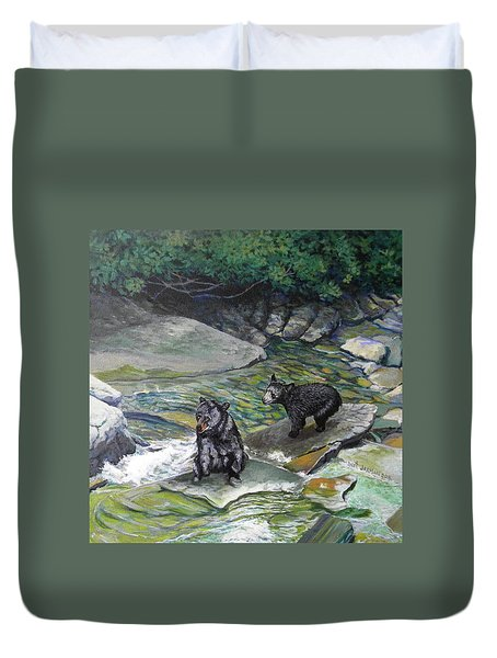 Bear Creek Duvet Cover