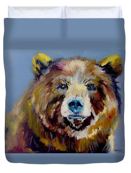 Bear Exposed Duvet Cover