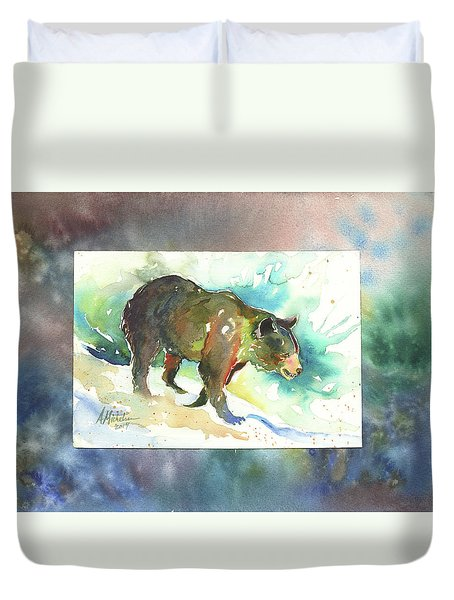 Bear I Duvet Cover