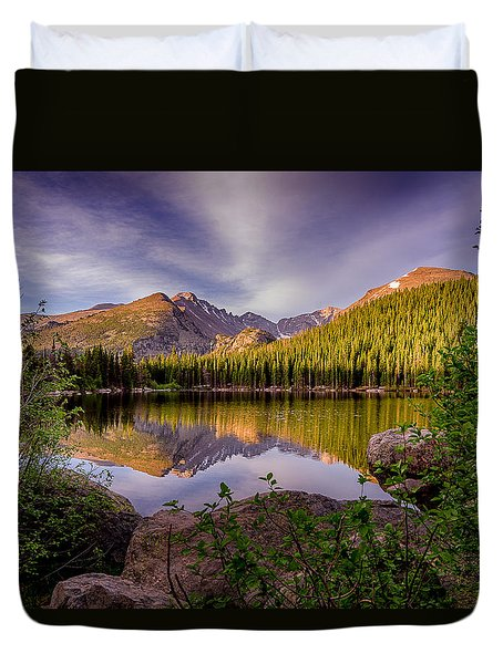 Bear Lake 2 Duvet Cover