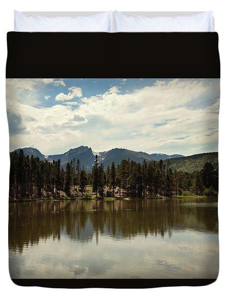 Bear Lake Duvet Cover