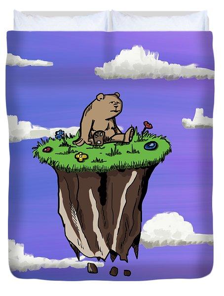Bear Rock Duvet Cover