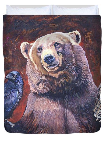Bear The Arbitrator Duvet Cover