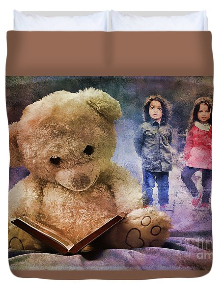 Beary Tales Can Come True 2016 Duvet Cover