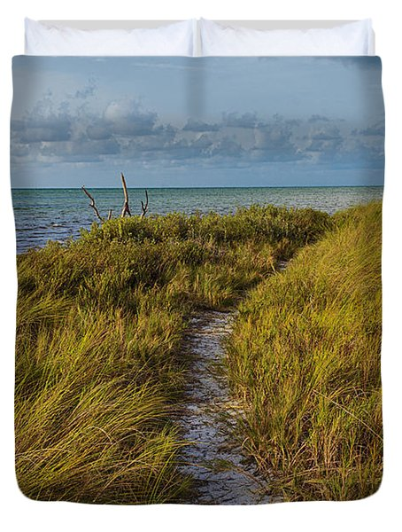 Beaten Path Duvet Cover