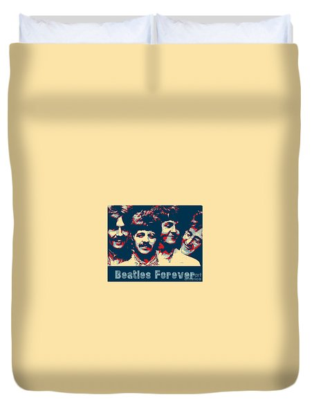 Beatles Forever Duvet Cover
