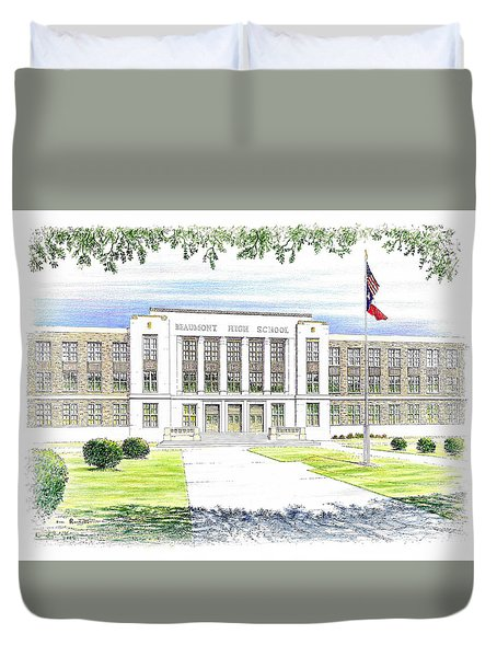 Beaumont High School Duvet Cover