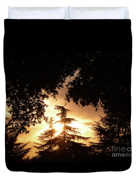Beaumont Sunset Duvet Cover