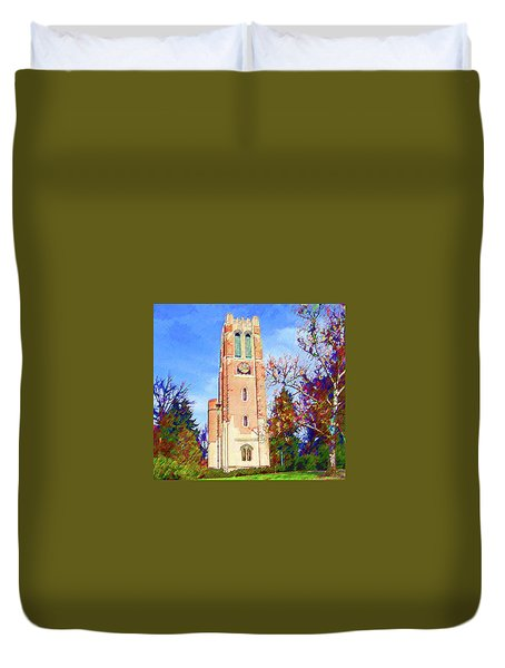 Beaumont Tower Duvet Cover