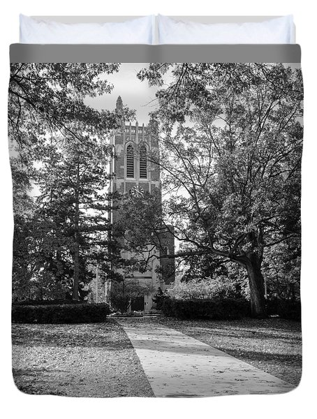 Beaumont Tower Duvet Cover by Larry Carr