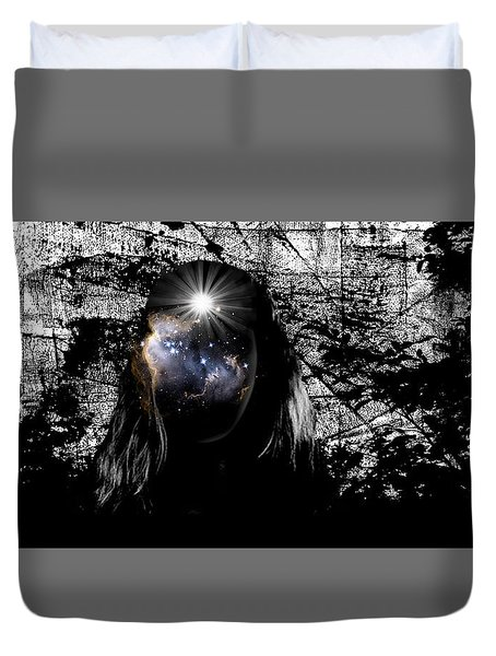 Beauties Are Things That Are Lit Inside Us Duvet Cover