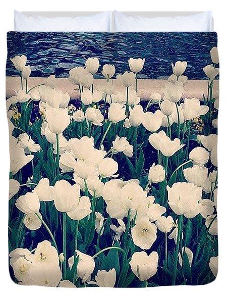 Beautiful! ❤ #flowers #flower Duvet Cover