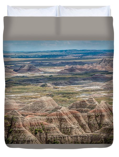 Beautiful Badlands Duvet Cover