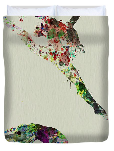 Beautiful Ballet Duvet Cover