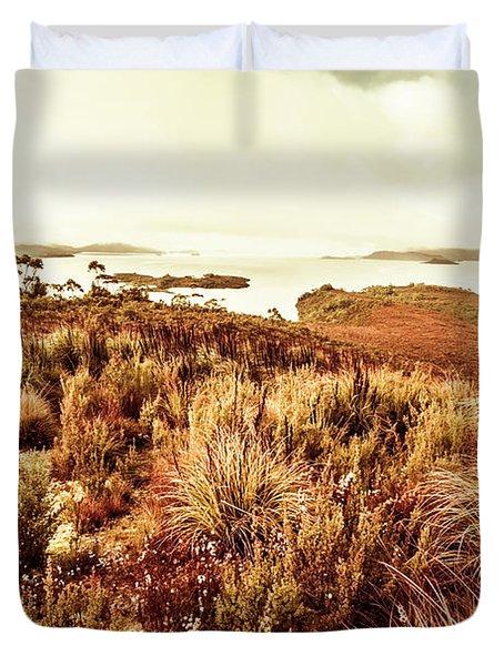Beautiful Barren Outback Duvet Cover