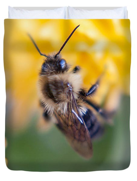 Beautiful Bee Duvet Cover