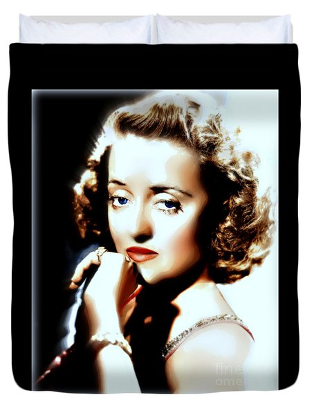 Beautiful Bette Duvet Cover by Wbk