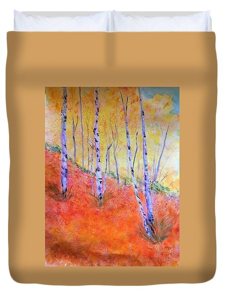 Beautiful Birches Duvet Cover