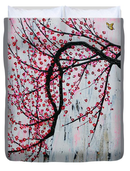 Beautiful Blossoms Duvet Cover by Natalie Briney