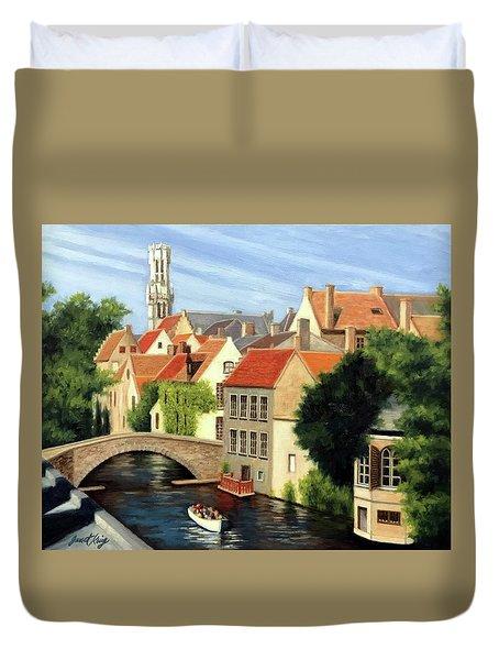 Beautiful Bruges Duvet Cover