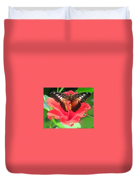 Beautiful Butterfly Duvet Cover